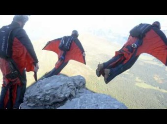 Jump4Heroes BASE Jumping The Eiger