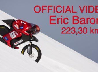 World Mountain Bike Speed Record – Eric Barone – 223,30 km/h