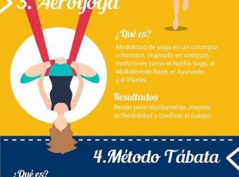 6 deportes originales ideales para mujeres – #Infografia #Alzheimer #Demencias