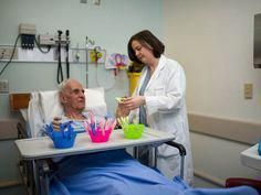 Toronto hospital uses new method to calm distressed dementia patients in the ER - Montessori Methods for Dementia #dementiacare