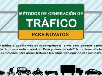 Descarga #gratis #Infografia Los 5 Mejores Métodos De Generación de Tráfico w…