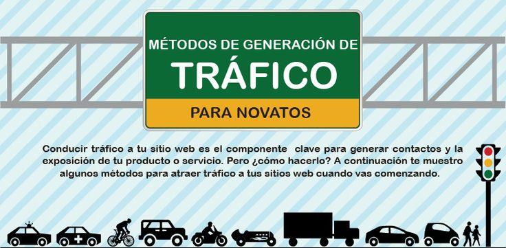 Descarga #gratis #Infografia Los 5 Mejores Métodos De Generación de Tráfico w...