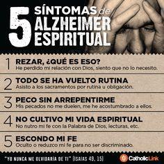 Biblioteca de Catholic-Link - Infografía: 5 síntomas de Alzheimer espiritual