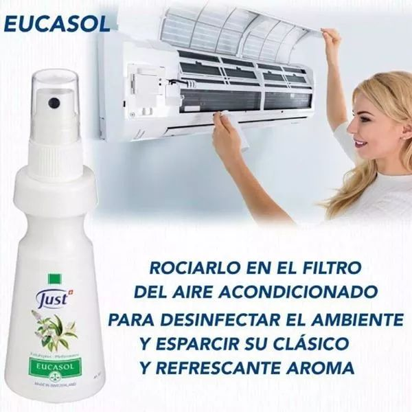 eucasol - spray de eucalipto swiss just