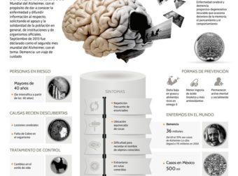 Alzheimer, cada cuatro segundos un caso en el mundo (INFOGRAFÍA): – #Infografia #Alzheimer #Demencias