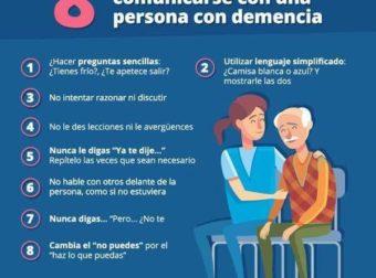 Infografía sobre Comunicarse con un Enfermo de Alzheimer – #Infografia #Alzheimer #Demencias