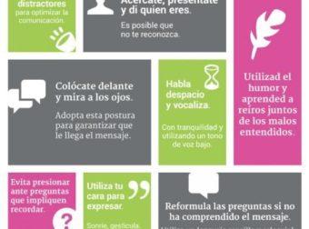Infografía: 10 consejos para mejorar la comunicación con un paciente de Alzhei… – #Infografia #Alzheimer #Demencias