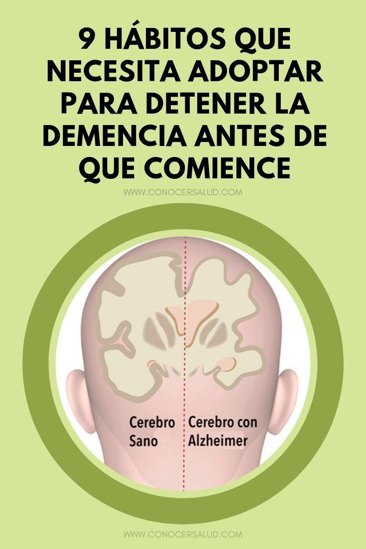 9 hábitos que necesita adoptar hoy para detener la demencia o el mal de Alzheim...