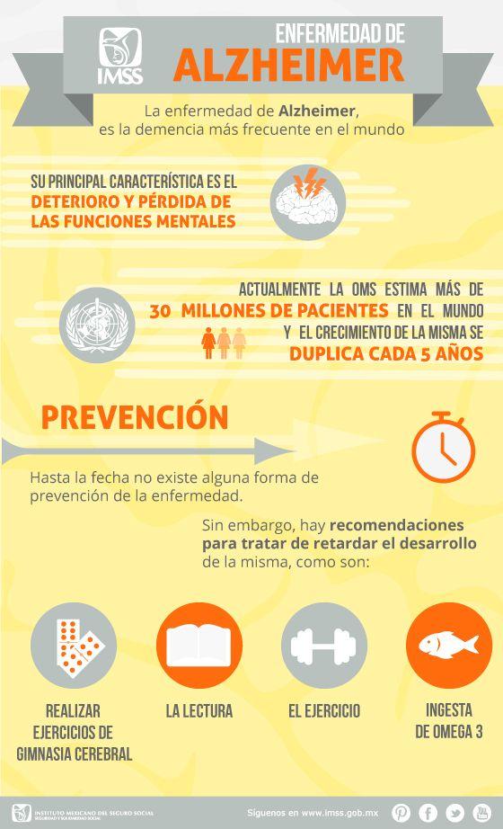 Infografía, Enfermedad de Alzheimer Solapas principales