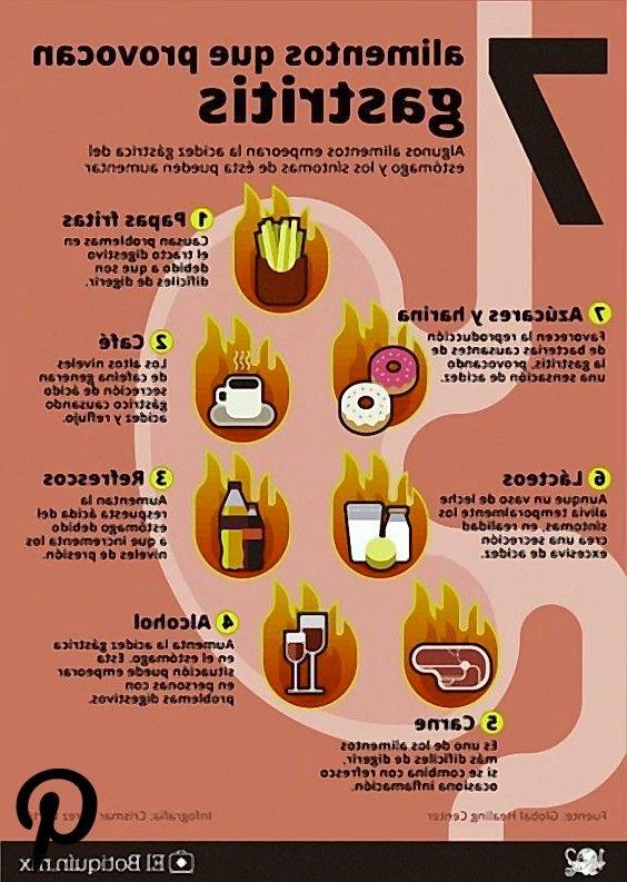 Esto es lo que debes comer y evitar si sufres de gastritis