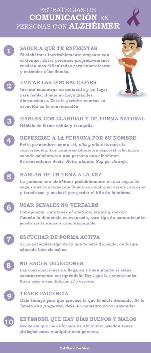 Infografias #Alzheimer #Estrategias #de #comunicación