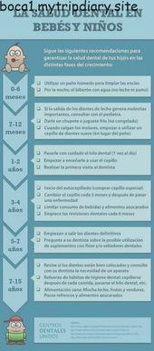La Salud Dental En Bebés Y Niños , #BEBES #consejosdesaluddental #Dental #INFOGRAFÍA #niños #...