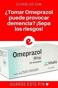 ¿Tomar Omeprazol puede provocar demencia? ¡Sepa los riesgos!