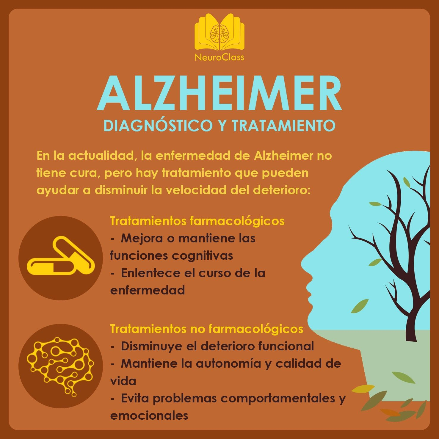 Alzheimer: diagnóstico y tratamiento