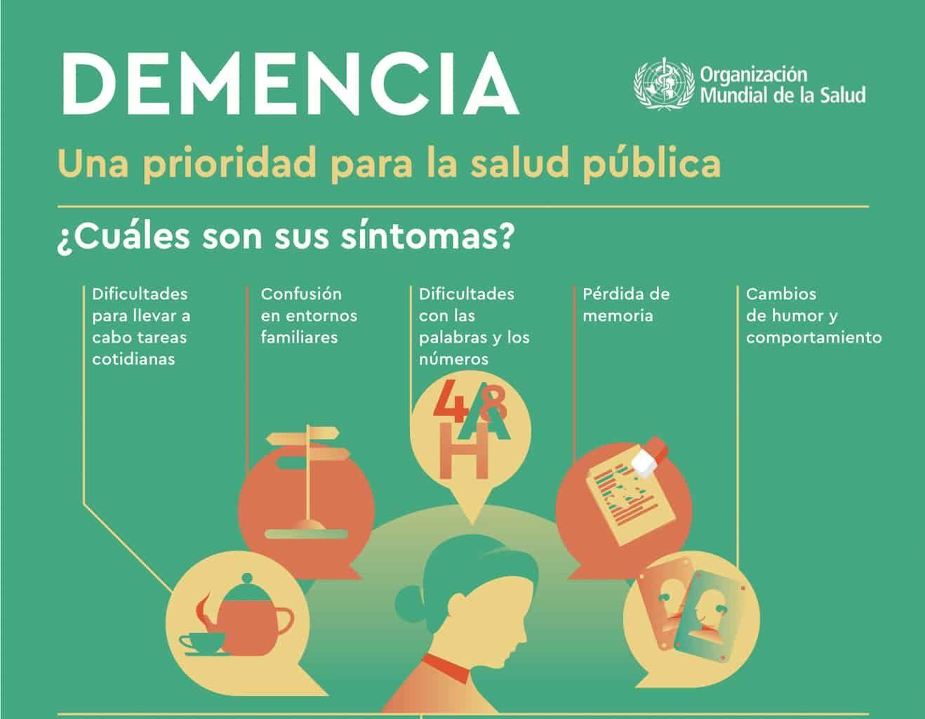 La demencia es un trastorno que se caracteriza por el deterioro de la función c...
