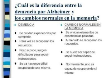 Sabes diferenciar entre demencia y alzheimer? – #Infografia #Alzheimer #Demencias