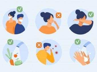 Download Protection From Coronavirus Tips for free – #Infografia #Alzheimer #Demencias