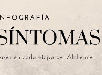 Infografía Fases del Alzheimer y Síntomas en cada Etapa – #Infografia #Alzheimer #Demencias