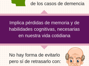 ¿Qué se puede hacer para retrasar el Alzheimer? – Amenara – #Infografia #Alzheimer #Demencias