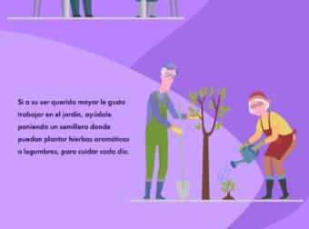Terapía ocupacional para mayores con demencia – #Infografia #Alzheimer #Demencias