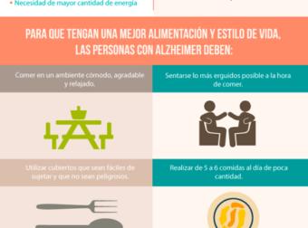 Ayuda a mejorar la calidad de vida de las personas con Alzheimer con estos conse… – #Infografia #Alzheimer #Demencias