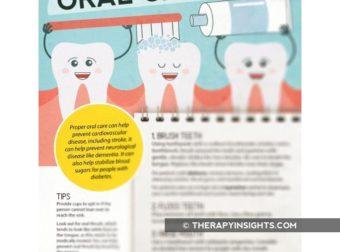 Handout: How to Complete Oral Care – #Infografia #Alzheimer #Demencias