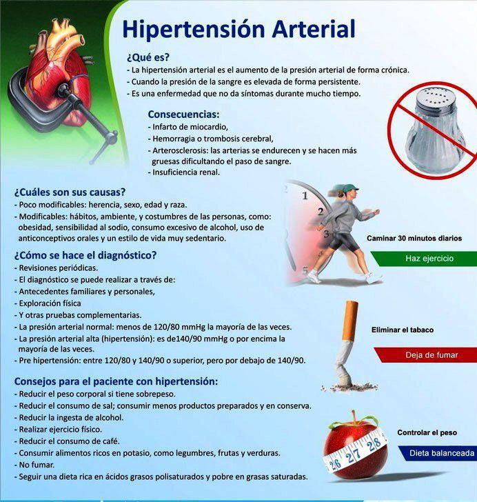 8 consejos para evitar la Hipertensión Arterial
