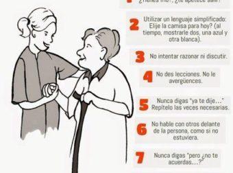 La Demencia Senil: 10 Recomendaciones para su Prevención – #Infografia #Alzheimer #Demencias