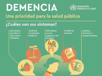 Más de 80 millones de personas sufrirán demencia en 2030, una prioridad de salud pública para la OMS – Noticias de enfermería y salud – #Infografia #Alzheimer #Demencias