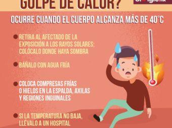 ¿Qué hacer ante un golpe de calor?  – #Infografia #Alzheimer #Demencias